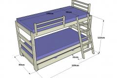 1_Litera-infantil-con-escalera-inclinada-y-cama-nido