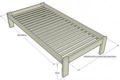 1-Cama-o-somier-Lit-estructura