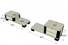 2-Mesillas-Ocean-plataforma-de-1-y-2-cajones