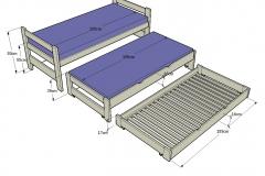 2-Nido-alta-triple-camas-extendidas